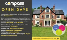 Vicarage House, Stottesdon open days 19th, 20th and 21st April 2021
